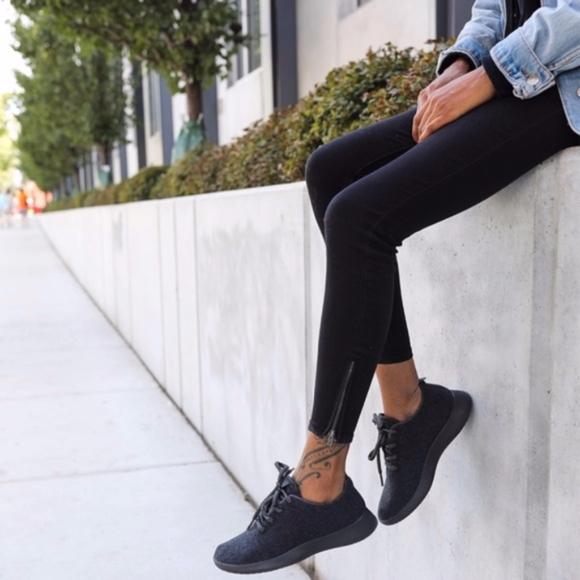 Allbirds Womens Charcoal Black Wool